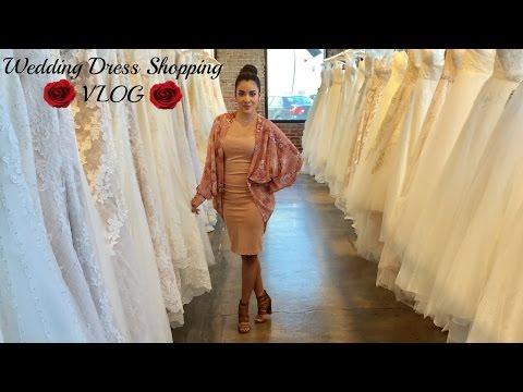 Wedding Dress Shopping | VLOG