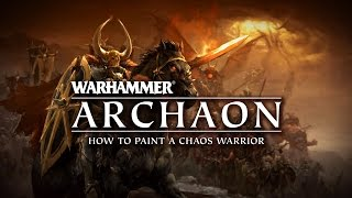 Скачать Archaon How To Paint A Chaos Warrior