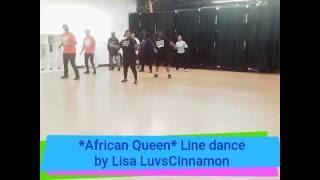 african queen line dance