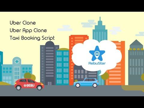 RebuStar - Uber Clone Script