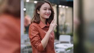 Короткая женская куртка из искусственной кожи новинка 2021 корейский стиль