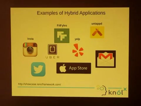 A brief introduction of Hybrid application development with Ionic Framework  and Apache Cordova
