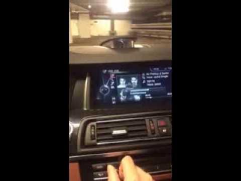 BMW 5 series 2014 Bang & Olufsen high end sound system