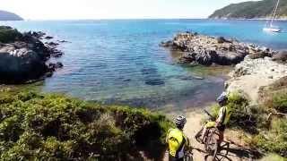 Video con drone per Guide MTB Isola d'Elba- Capoliveri 2014