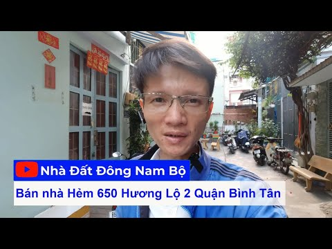 Livestream Bán Nhà Cấp 4 Gác Lửng 5x10m Hẻm 6m Hương Lộ 2 Quận Bình Tân