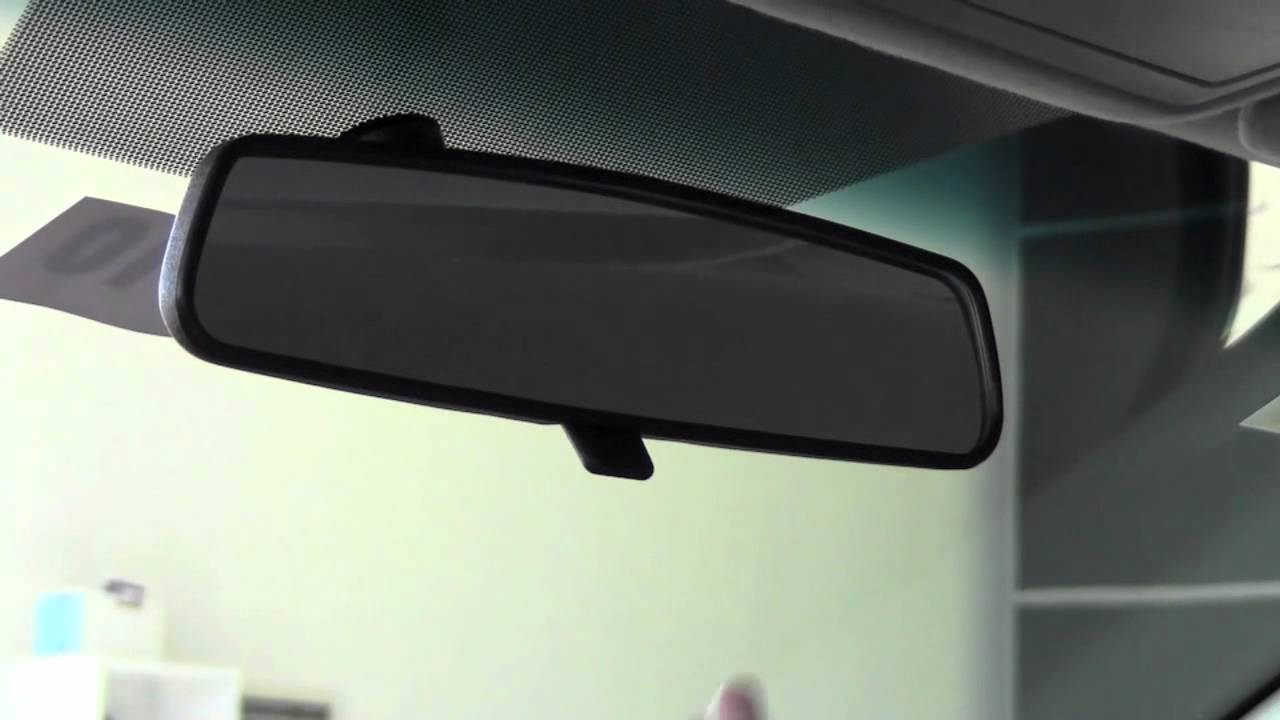 2011 Toyota Camry Rear View Mirror Adjustment How