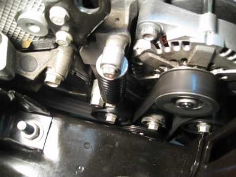 Saturn Vue Green Line hybrid BAS belt, auto stopstart