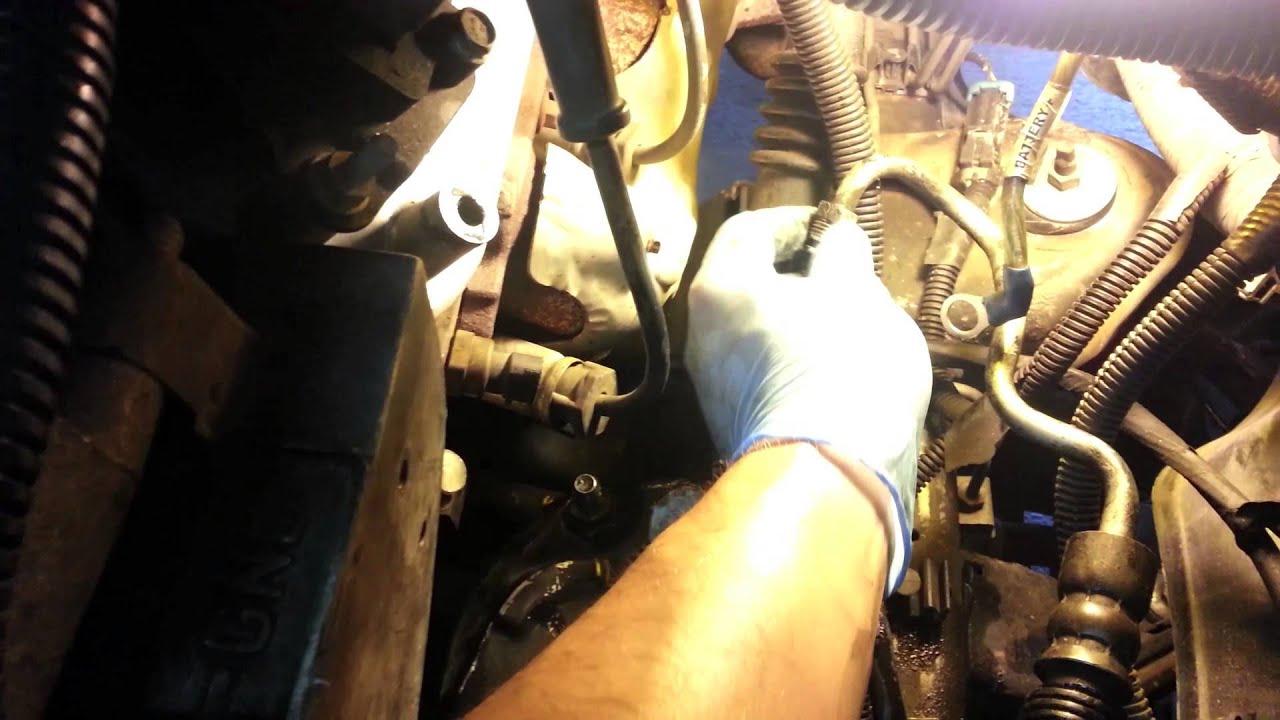 2002 gmc sierra power steering pump replacement how to tutorial [ 1280 x 720 Pixel ]