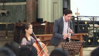 하나님의 은혜 - L. Iosco 클라리넷, 송태미 첼로 - 영국 런던 킹스크로스 한인교회