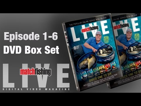 Match Fishing Live Episode 1-6 Box Set Trailer