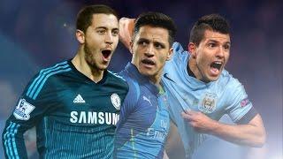 Sergio agüero vs alexis sánchez vs eden hazard    skills battle    co-op 2015 [hd]