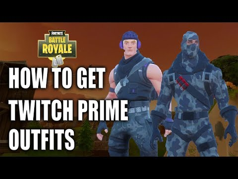 FORTNITE - HOW TO GET TWITCH PRIME OUTFITS!