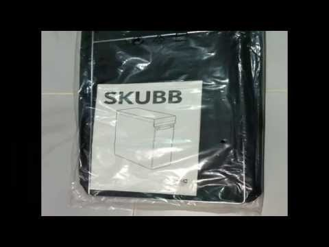 Ikea Skubb Laundry Bag with Stand Unboxing and ...