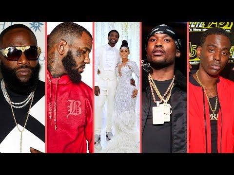 "Rappers React To ""Gucci Mane and Keyshia Ka'oir Wedding The Mane Event"" (Game Meek Dolph Rick Ross)"