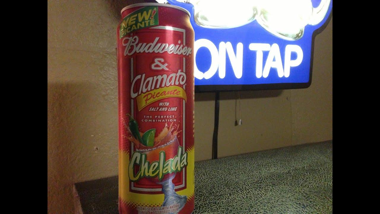 Budweiser & Clamato Picante Chelada Review