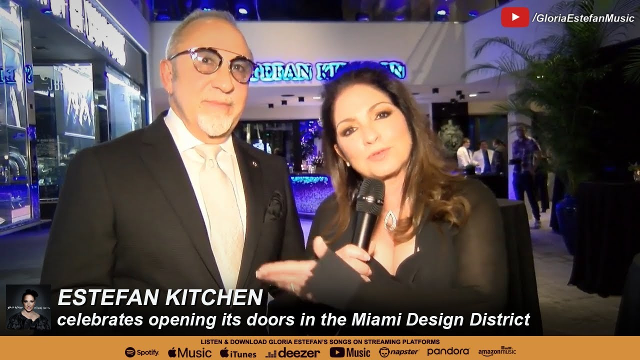 Estefan Kitchen Celebrates Opening Its Doors In The Miami Design District Youtube