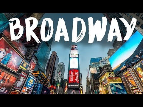 Broadway Street in New York City | NORTH STAR VLOG #110