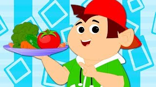 Eat Meals | Food Song | Nursery Rhymes For Babies | Songs For Children