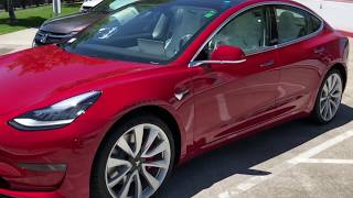 Elon's Performance Model 3? Tesla Factory Tour! [EXCLUSIVE]