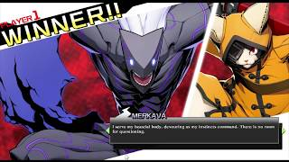 Blazblue Cross tag battle |Merkava interactions|