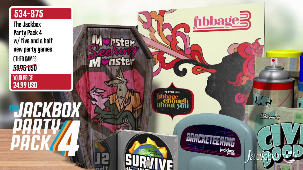 AVAILABLE NOW: The Jackbox Party Pack 4 - YouTube