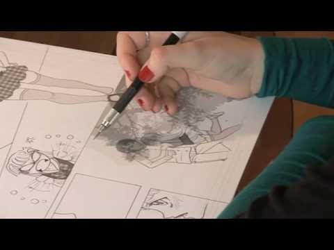 Canson pr sente r aliser une planche de manga avec s - Comment dessiner un train ...