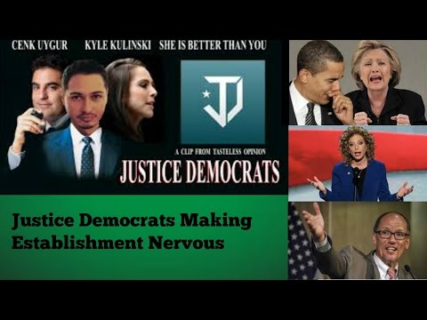 Justice Democrats against the Establishment