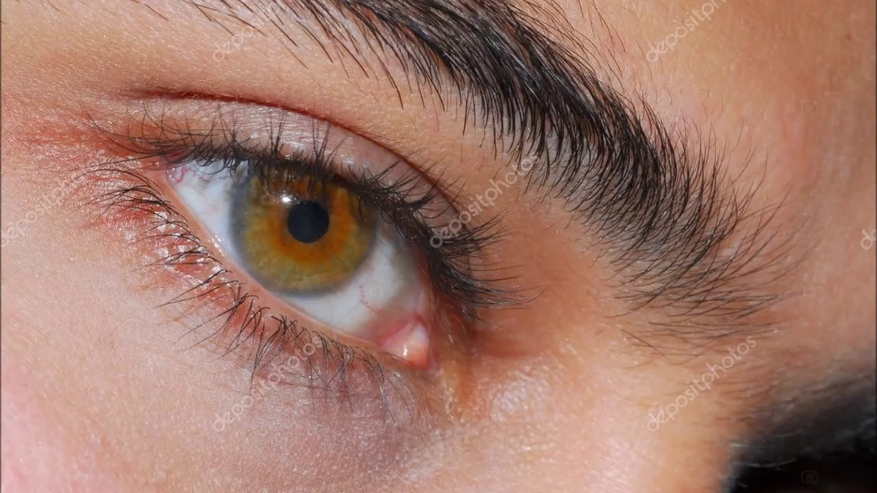 تغيير لون العين الى العسلي