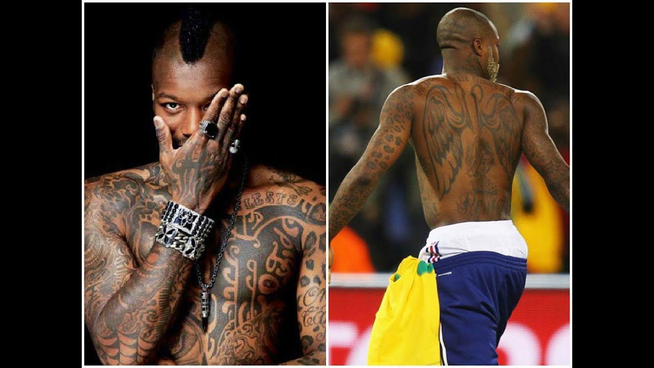 Football players with amazing tattoos! - YouTube