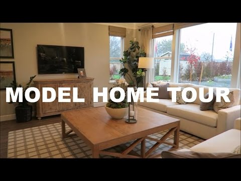 NEW WASHER AND LOOKING AT MODEL HOMES