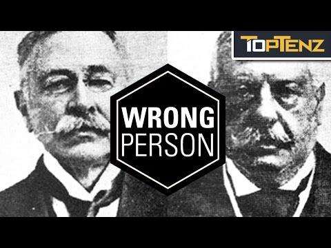 Top 10 HORRIBLE Cases of MISTAKEN IDENTITY