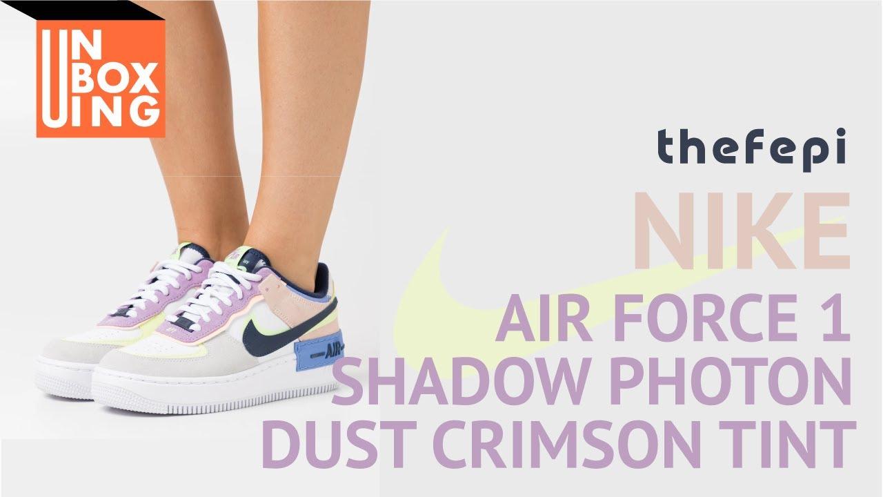 Nike Air Force 1 Shadow Photon Dust Crimson Tint Youtube Sneakers air force 1 shadow di nike. nike air force 1 shadow photon dust crimson tint