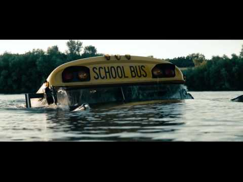 Man of Steel Clip: School Bus Rescue Scene