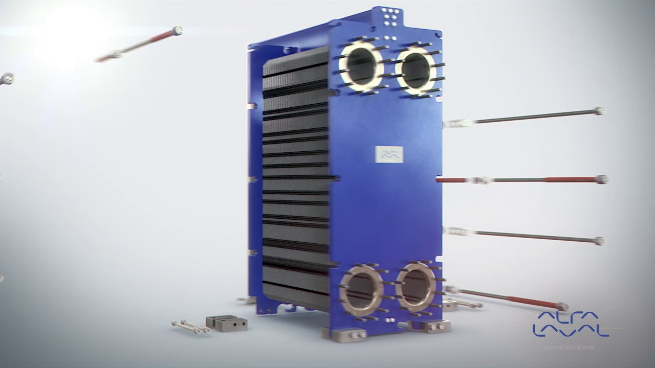 Assembly Of Alfa Laval Gasketed Plate Heat Exchanger Youtube