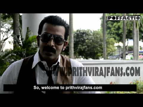 Welcome to WWW.PRITHVIRAJFANS.COM