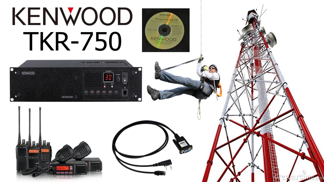 🅰Como Descargar E Instalar Software De Repetidora Kenwood KPG 91D  [TKR-750] Full HD [1080p 60Fps]💋