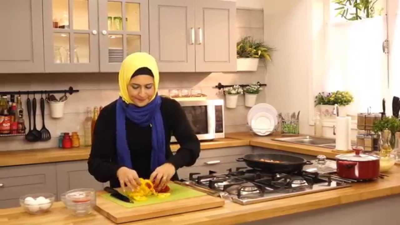 شكشوكة السبانخ والجبنة الفيتا وبطاطس بوريه لايت مع سمر حمدي في صحي (الجزء الاول)