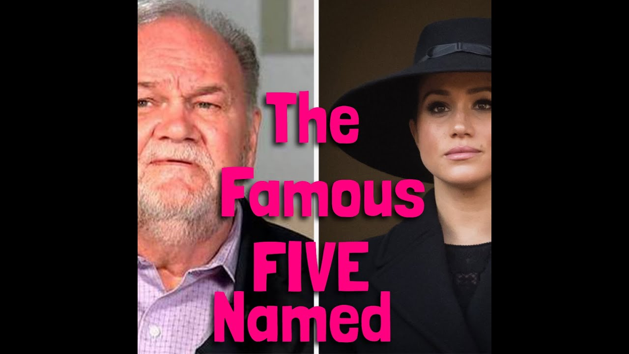 The FAMOUS FIVE Named