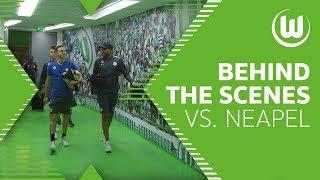 Tunnel-Cam - Behind-The-Scenes vor SSC Neapel | VfL Wolfsburg