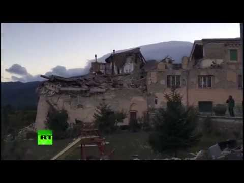 6.2 quake shakes Rome, 'destroys' town in central Italy