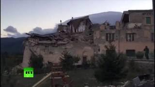 Video: Un terremoto en Italia de 6,2 causa al menos 50 muertos y destrozos en el centro del país