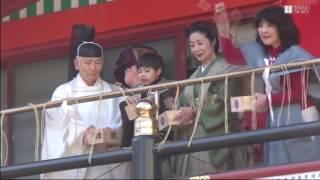 3日、東京都千代田区の神田明神で節分祭が行われ豆まき式が行われた。 ...