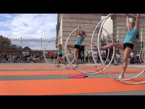 Rhönrad Austria - Wien 20.09.2014 Tag des Sports