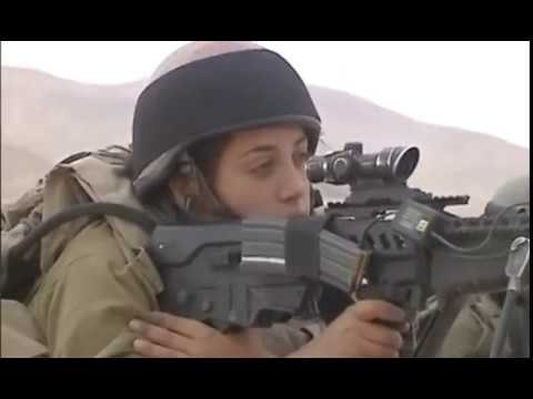 Самые красивые и сильные девушки. Израильская армия не может быть  без девушек.