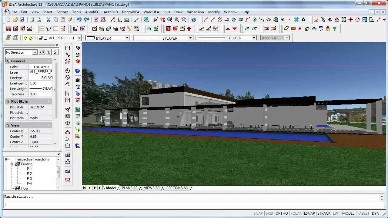logiciel architecture 3d bim - intelliplus architectural gratuit