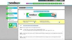 Geld verdienen #005 - Tutorial NEOBUX (Deutsch) - alt aber bewährt !