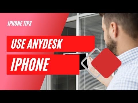 How To Use Anydesk On Iphone Tutorial