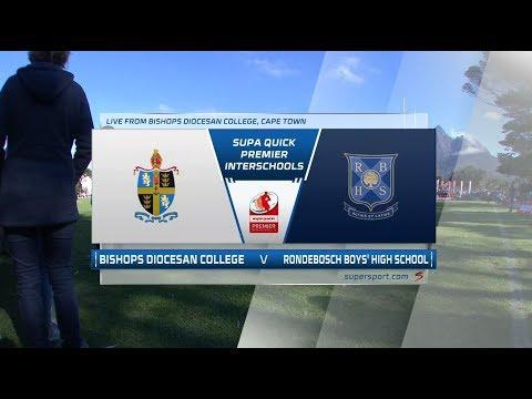 Premier Interschools Rugby   Bishops College vs Rondebosch Boys High