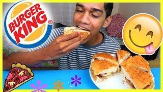 COMO FAZER A PIZZA DO BURGER KING EM CASA!