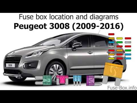 fuse box location and diagrams peugeot 3008 (2009 2016) Peugeot 3008 2015